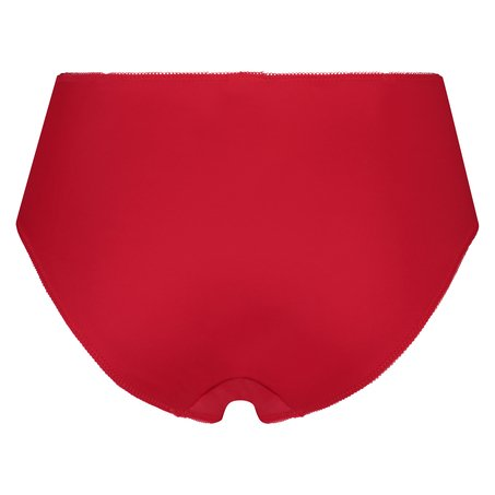 Hochgeschnittener Slip Diva, Rot