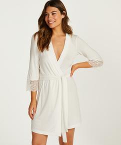 Kimono Vera Lace, Weiß