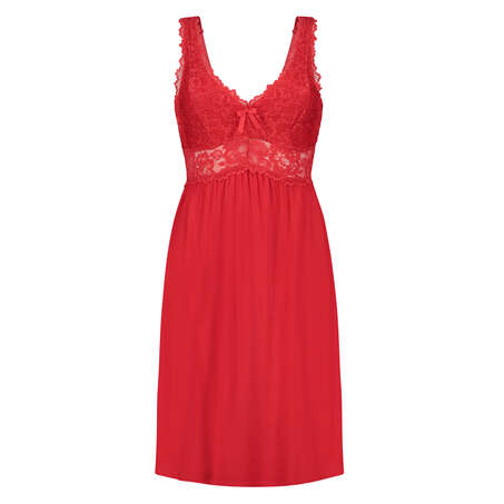 Nuisette Modal Lace, Rouge