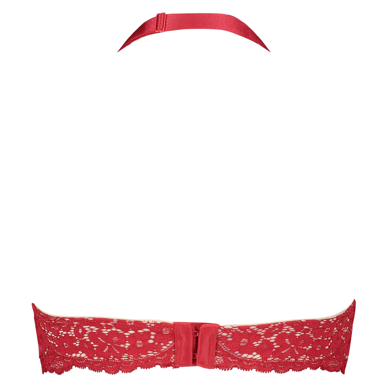 Träger-Bralette Rose, Rot, main