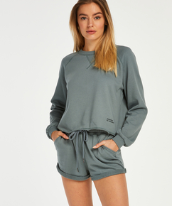 Shorts Sweat French, grün