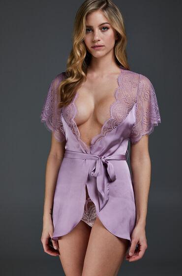 Image of Hunkemöller Kimono Cap Sleeve Lila