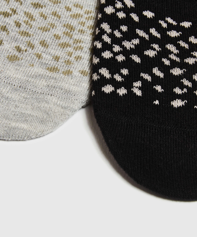 2 Paar Socken, Schwarz, main