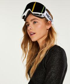 Lunettes de ski, Blanc