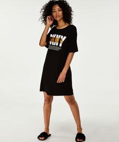 Chemise de nuit DKNY, Noir