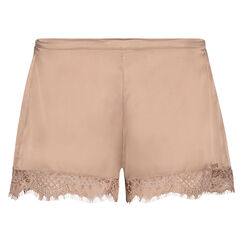 Pyjama Shorts aus Seide Scallop Lace, Rose