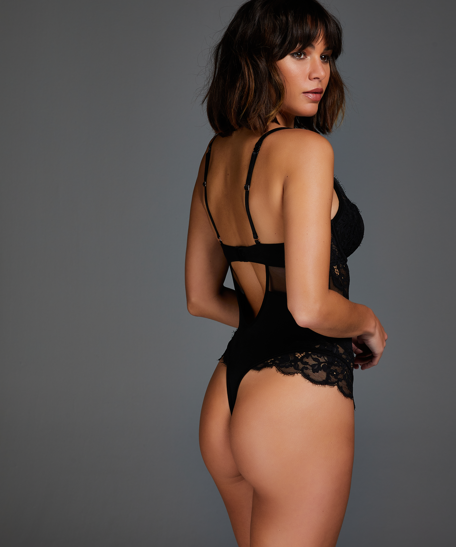 Body Geneviève, Schwarz, main
