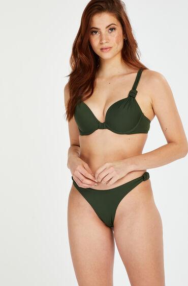 Image of Hunkemöller Bikini-Slip mit hohem Beinausschnitt Luxe grün