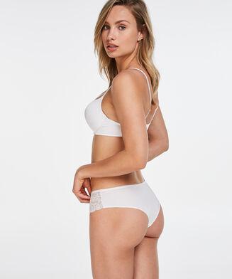 Soutien-gorge à armatures préformé maximiseur Plunge, Blanc