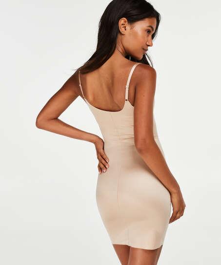 Formendes Scuba Kleid - Level 3, Beige