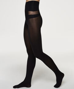 Seamless Collant 60 Denier, Noir