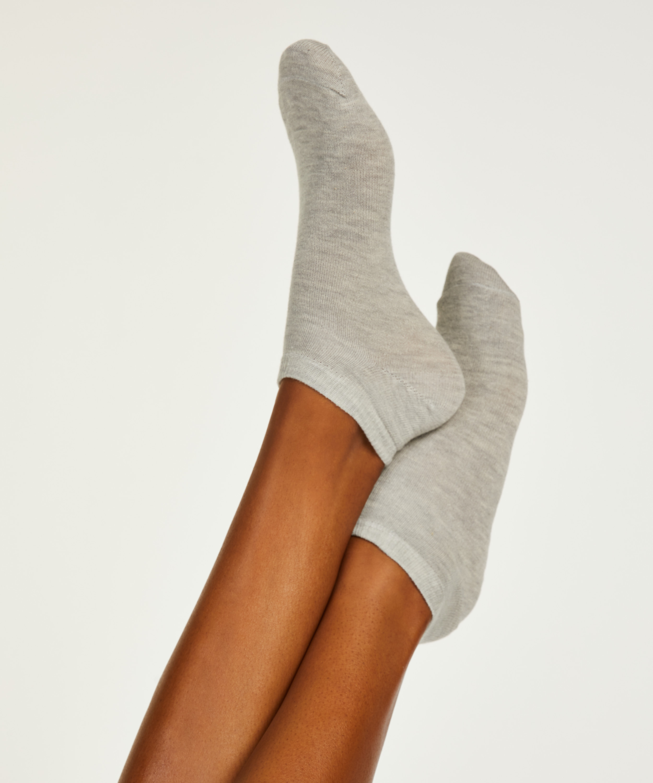 2 Paar Socken, Orange, main