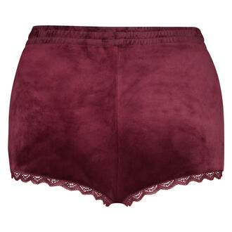 Short Velours Lace, Rouge