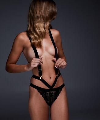 Culottes Malika, Noir
