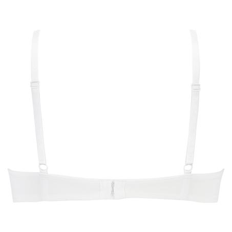 Soutien-gorge à armatures préformé Plunge, Blanc