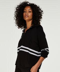 Sweat à capuche DKNY, Noir