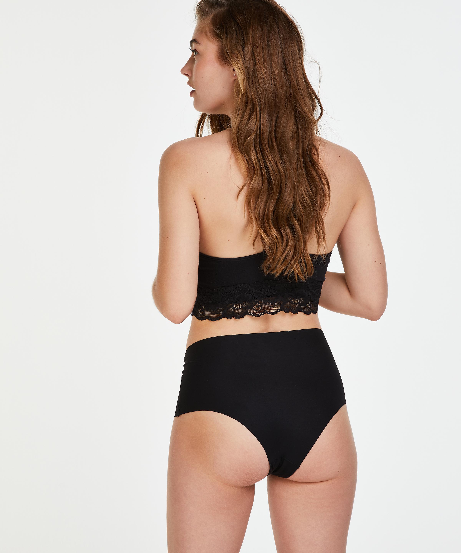 Invisible High-waist Brazilian, Schwarz, main