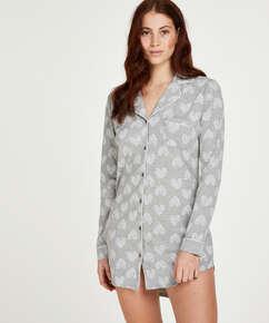 Haut de pyjama  Heart, Gris