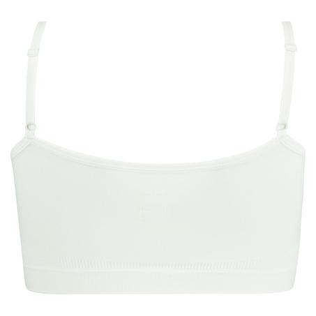 Strappy-Top, seamless, Weiß