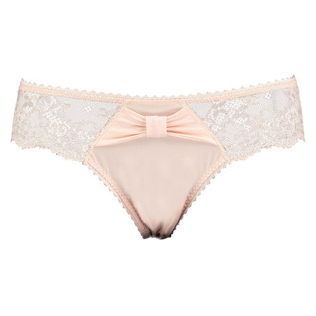 Brazilian Bambi Bow Lace, Rose