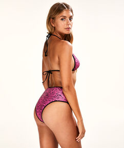Top de bikini triangle Haze, Rose