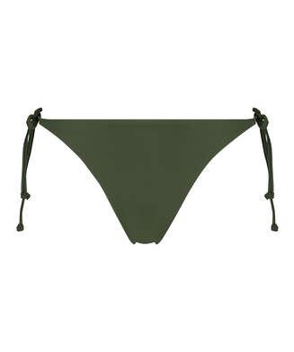 String Bikini-Slip Luxe, grün