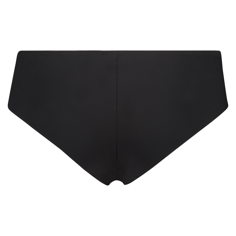 Slip Satin Fleece, Noir, main