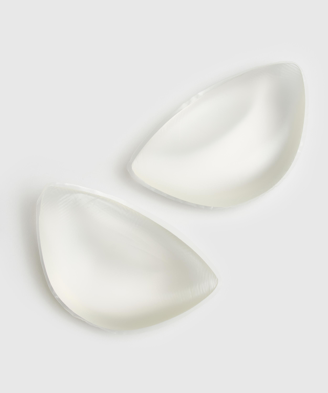 Coussinets push-up taille unique, Blanc, main