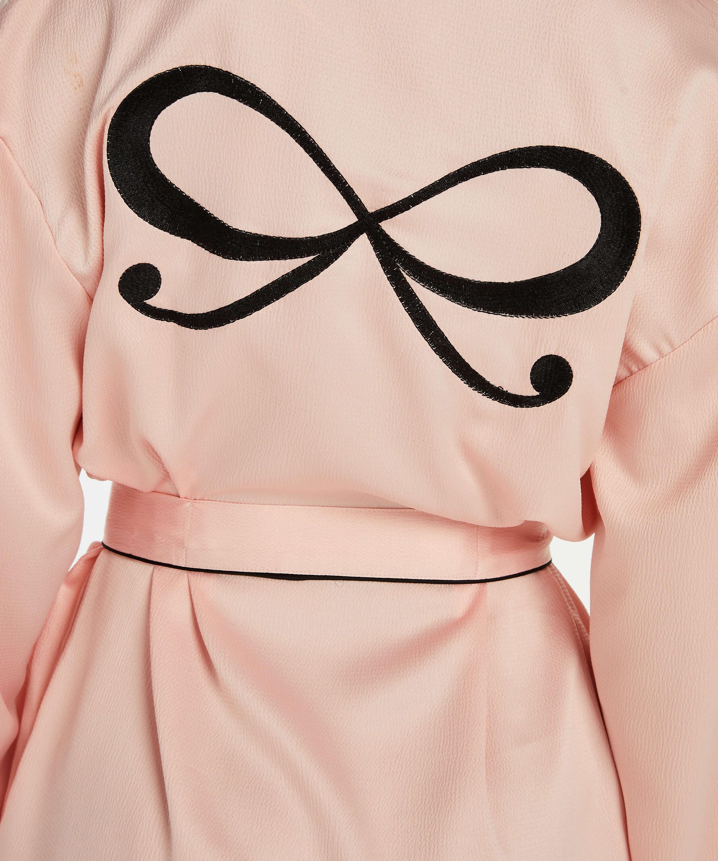 Kimono Satin, Rose, main