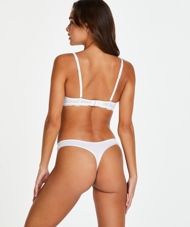 Soutien-gorge à armatures préformé Angie, Blanc, main