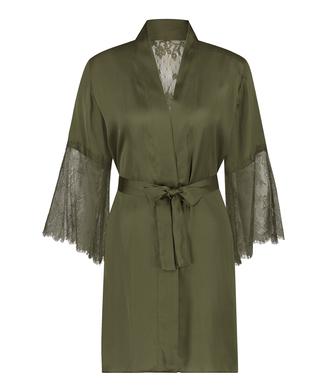 Kimono Satin Lily, Vert