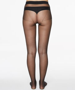 Seamless Collant 20 Denier, Noir