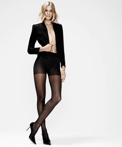 Lot de 2 Collants 30 Denier, Noir
