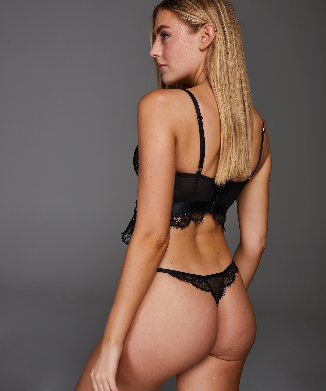 String Heather, Noir, main