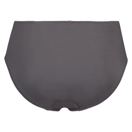Hochgeschnittener Slip Diva, Grau
