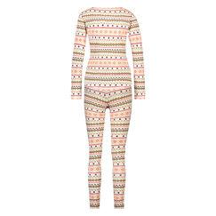 Geschenkset Langes Pyjamaset, Gelb