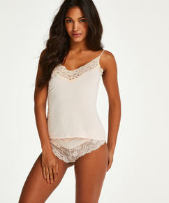 Cami Jersey Lace, Rose