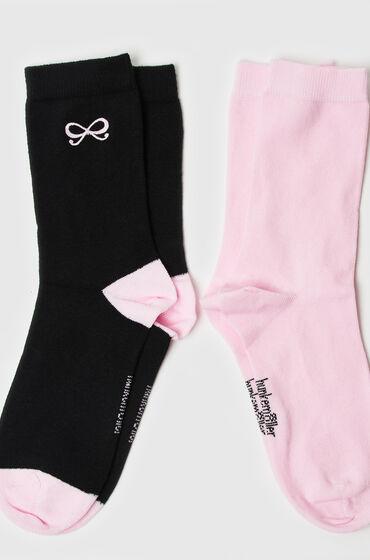 Image of Hunkemöller 2 Paar Socken Bow