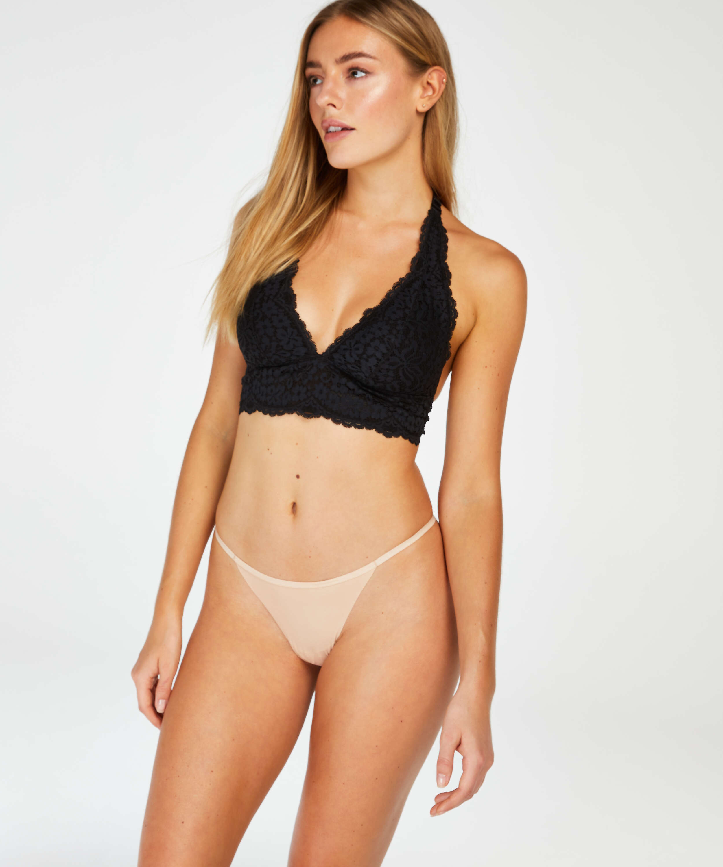 Invisible T-String Micro, Beige, main