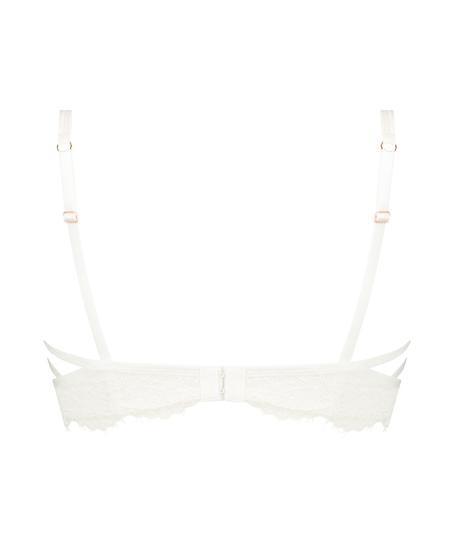 Soutien-gorge à armatures non-préformé longline Eve, Blanc