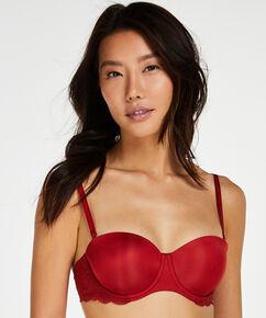 Vorgeformter Bügel-BH Angie, strapless, Rot