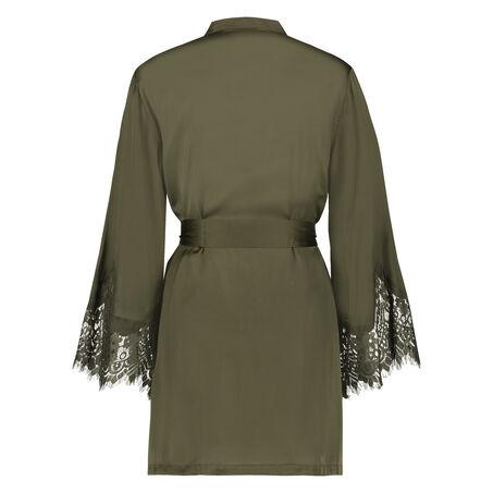 Kimono Lace Satin, grün
