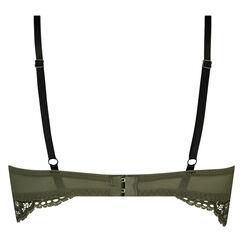 Vorgeformter Longline-Bügel-BH Xiomara, grün