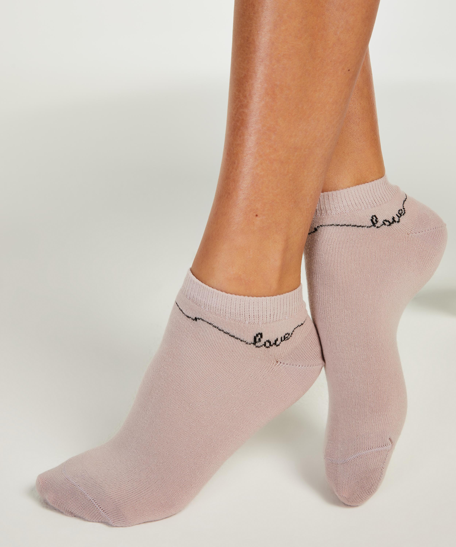 2 Paar Socken, Lila, main