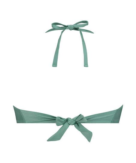 Vorgeformtes Bügel-Bikinioberteil SoCal mit Push-up-Effekt, grün
