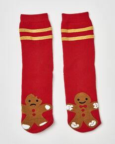 Geschenkbox mit Socken , Rot