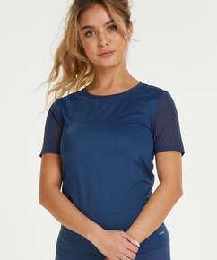 T-shirt de sport HKMX Dos échancré, Bleu