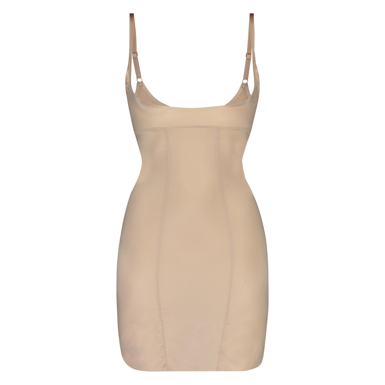 Formendes Scuba Kleid - Level 3, Beige, main