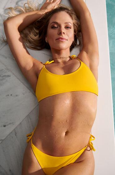 Image of Hunkemöller Bikini-Crop-Top Napa Gelb