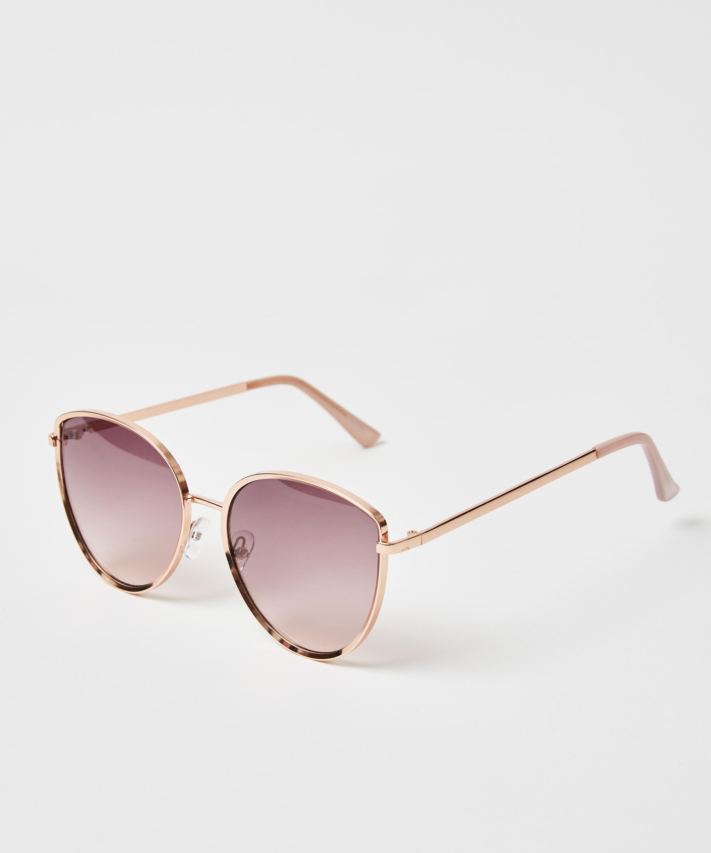 Sonnenbrille, Braun, main